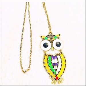 1/12/19  FOREVER21 OWL NECKLACE
